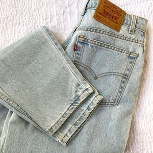 Vintage Levi's 512 high waist mom wedgie jeans 11